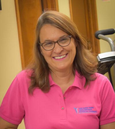 Barbara Marchewka, Receptionist
